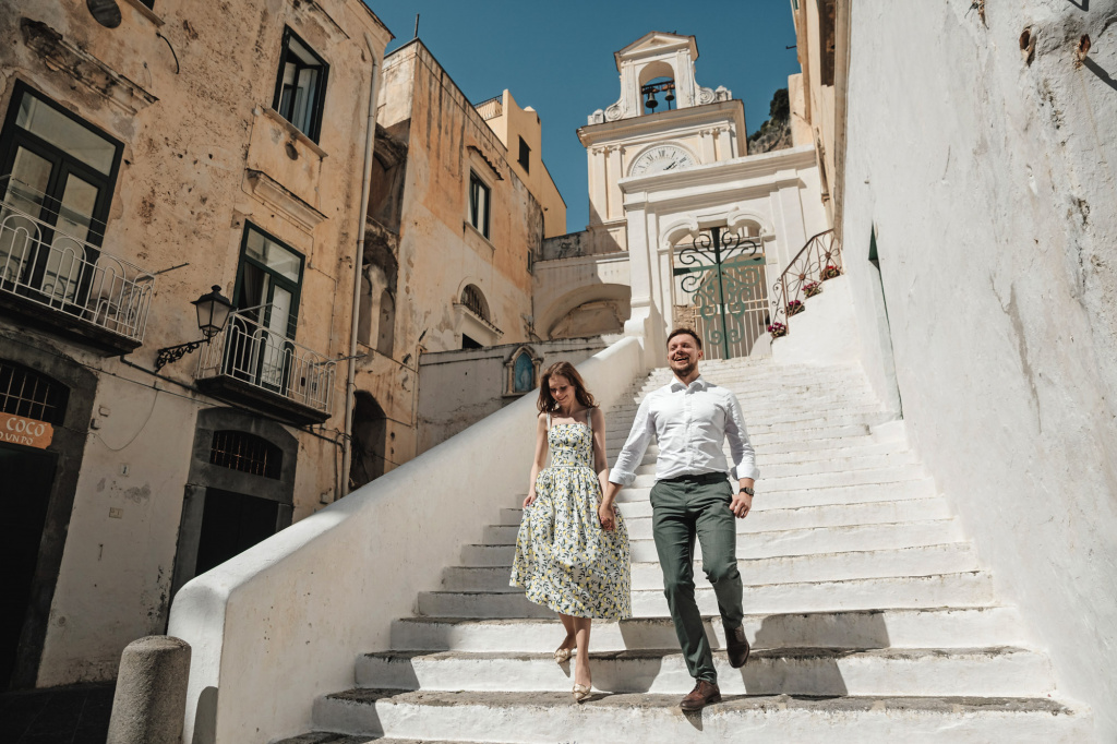 After-wedding photoshoot on Amalfi coast, Italy, Amalfi, Anastasiya Kotelnyk photographer, #21296