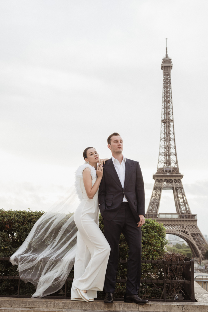 Trocadero elopement session, France, Anastasia Abramova-Guendel photographer, #23496