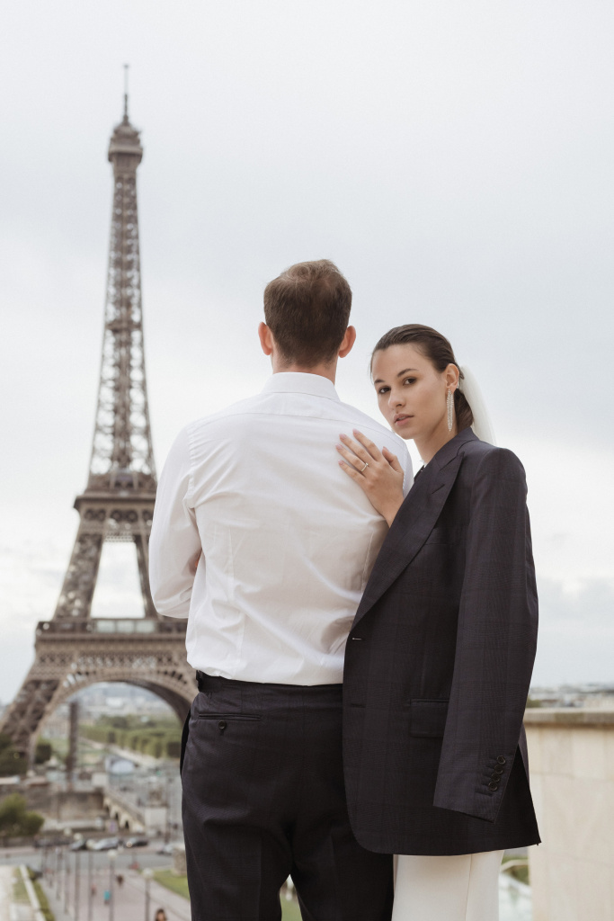 Trocadero elopement session, France, Anastasia Abramova-Guendel photographer, #23512