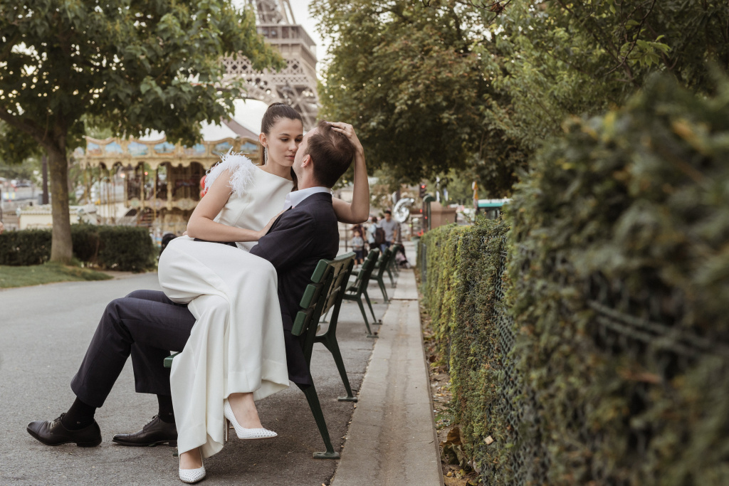 Trocadero elopement session, France, Anastasia Abramova-Guendel photographer, #23522