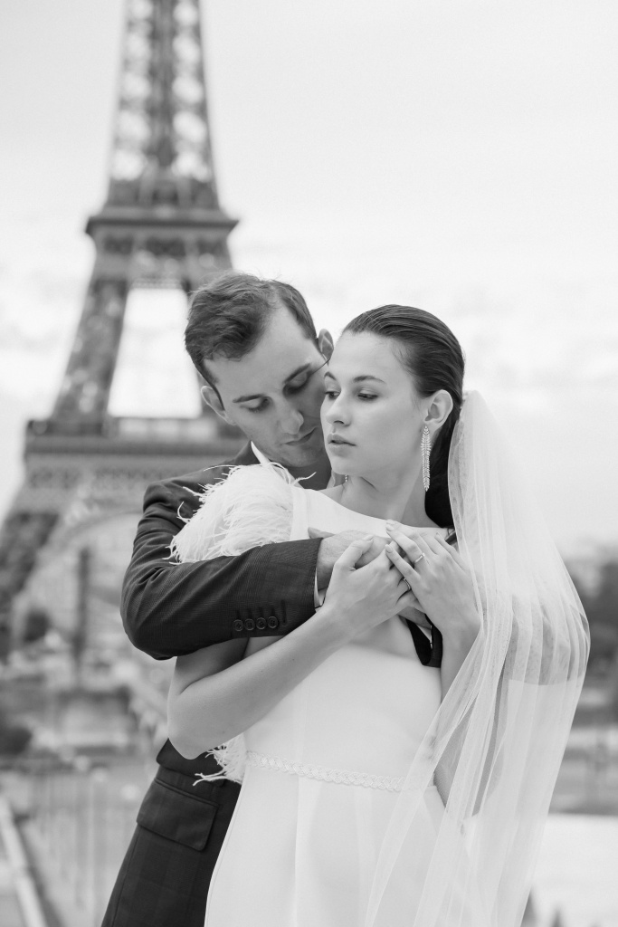 Trocadero elopement session, France, Anastasia Abramova-Guendel photographer, #23511