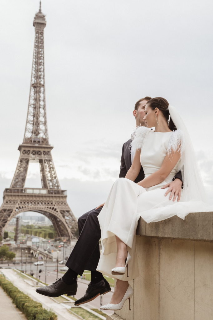 Trocadero elopement session, France, Anastasia Abramova-Guendel photographer, #23499
