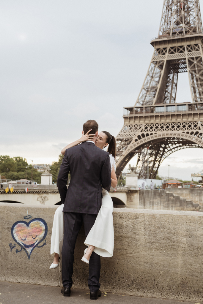 Trocadero elopement session, France, Anastasia Abramova-Guendel photographer, #23528