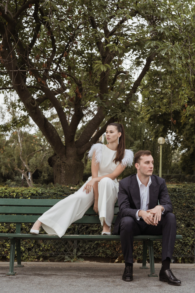 Trocadero elopement session, France, Anastasia Abramova-Guendel photographer, #23525
