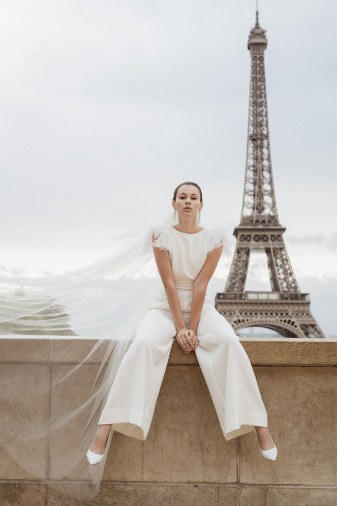 Trocadero elopement session, France, Anastasia Abramova-Guendel photographer, #23503