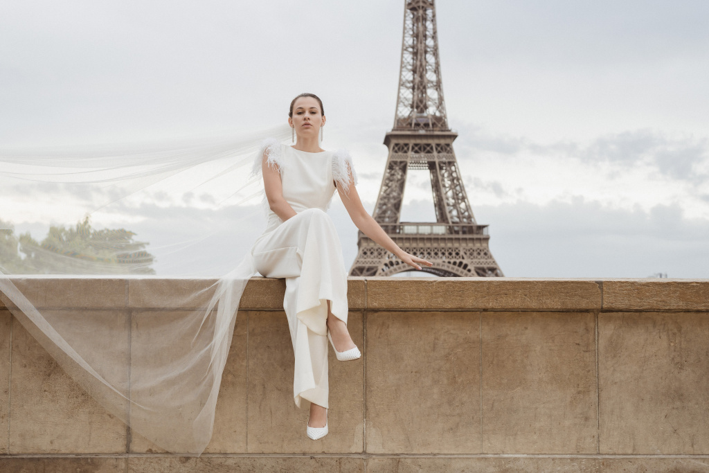 Trocadero elopement session, France, Anastasia Abramova-Guendel photographer, #23501