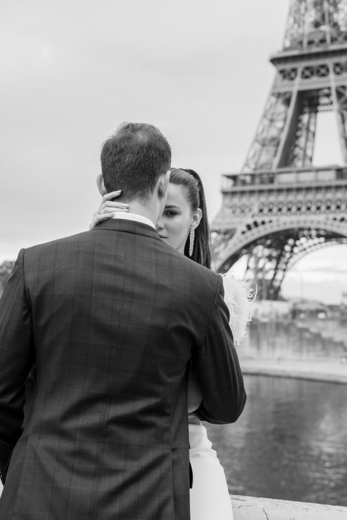 Trocadero elopement session, France, Anastasia Abramova-Guendel photographer, #23529