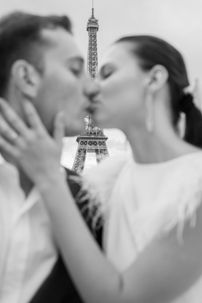 Trocadero elopement session, France, Anastasia Abramova-Guendel photographer, #23507