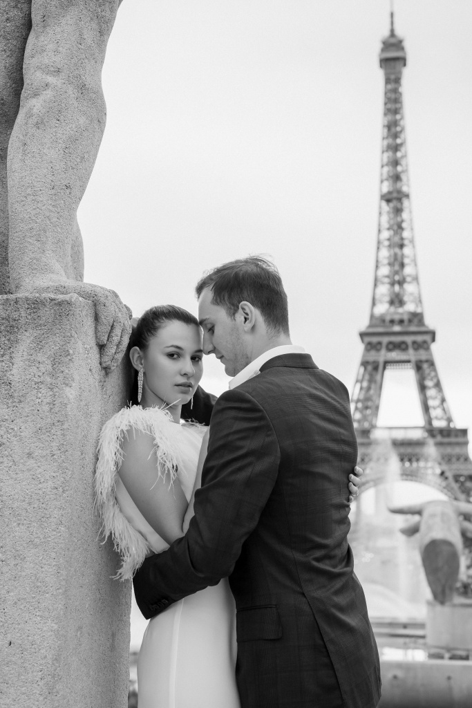 Trocadero elopement session, France, Anastasia Abramova-Guendel photographer, #23521