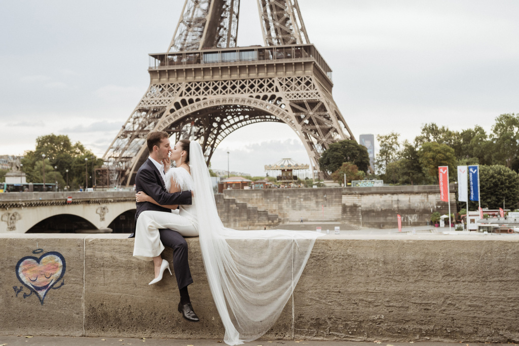 Trocadero elopement session, France, Anastasia Abramova-Guendel photographer, #23532