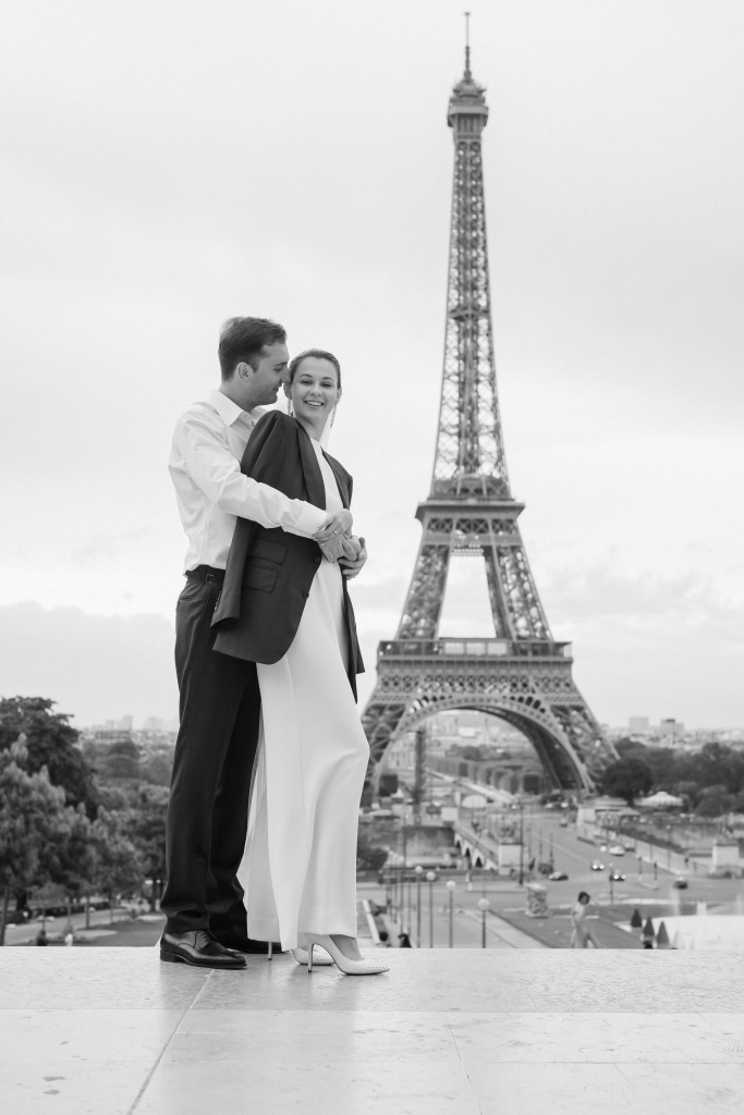 Trocadero elopement session, France, Anastasia Abramova-Guendel photographer, #23513