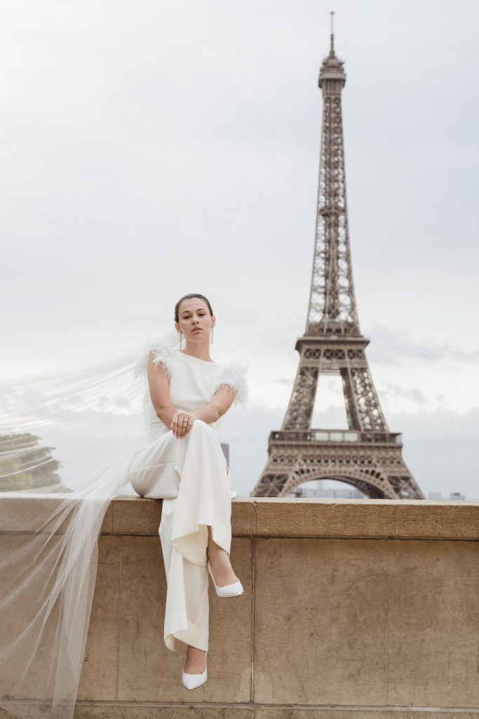 Trocadero elopement session, France, Anastasia Abramova-Guendel photographer, #23500