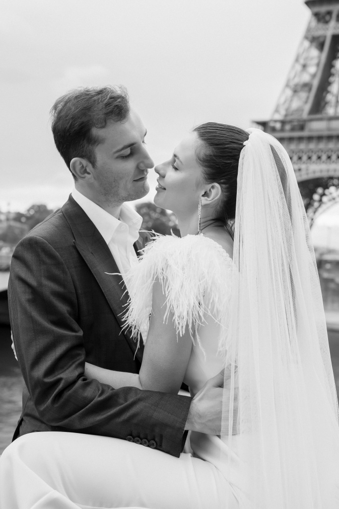 Trocadero elopement session, France, Anastasia Abramova-Guendel photographer, #23533