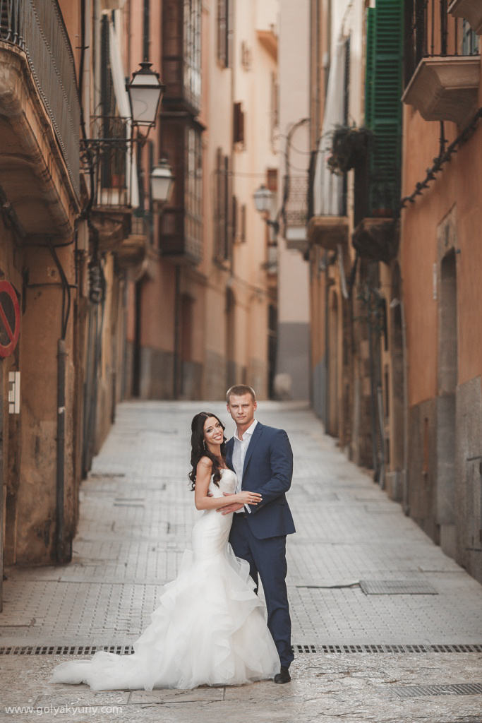 Wedding photo session in Spain. Palma De Mallorca, Spain, Yuriy Goliak photographer, #23643