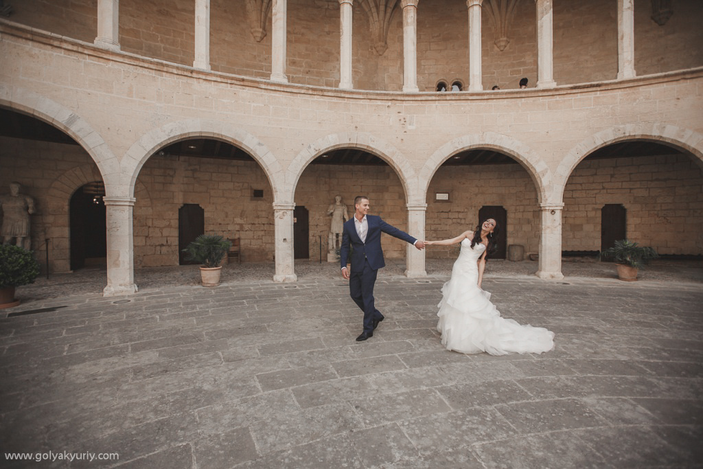Wedding photo session in Spain. Palma De Mallorca, Spain, Yuriy Goliak photographer, #23646