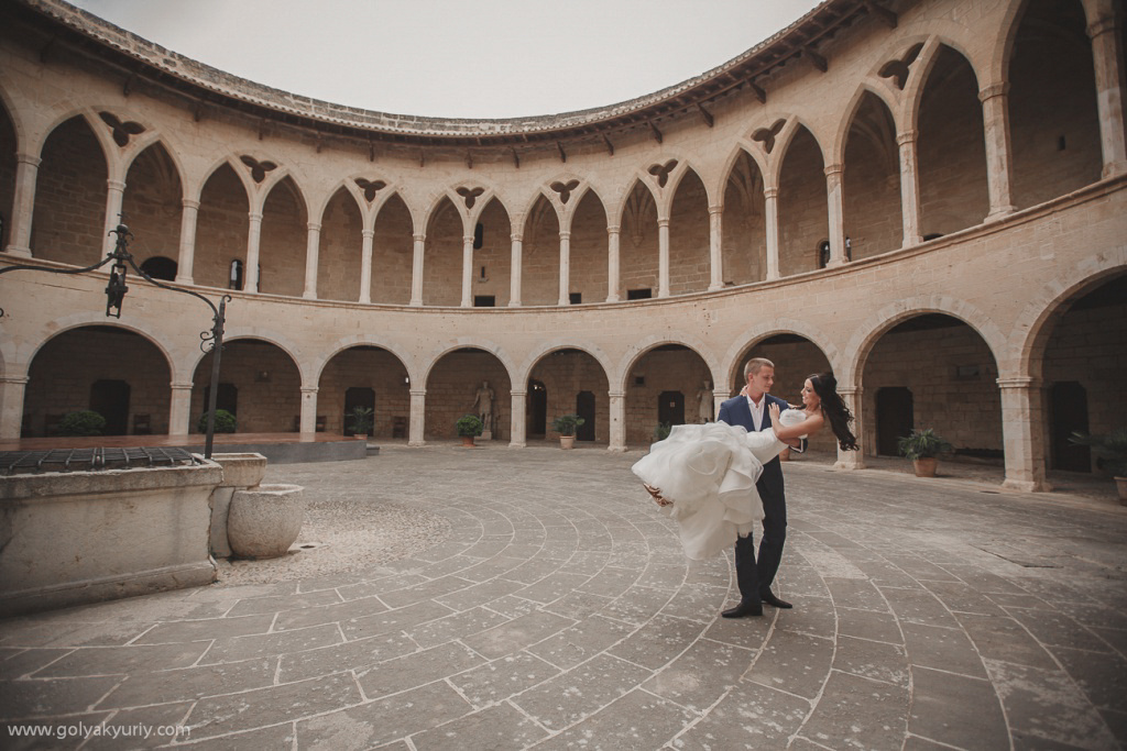 Wedding photo session in Spain. Palma De Mallorca, Spain, Yuriy Goliak photographer, #23653