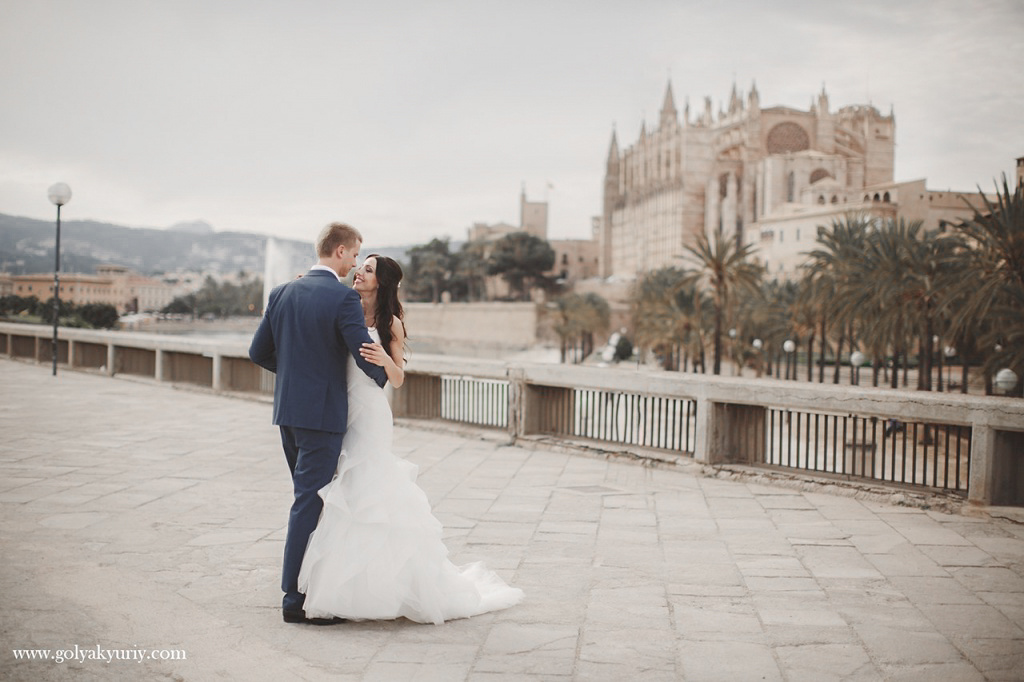 Wedding photo session in Spain. Palma De Mallorca, Spain, Yuriy Goliak photographer, #23638