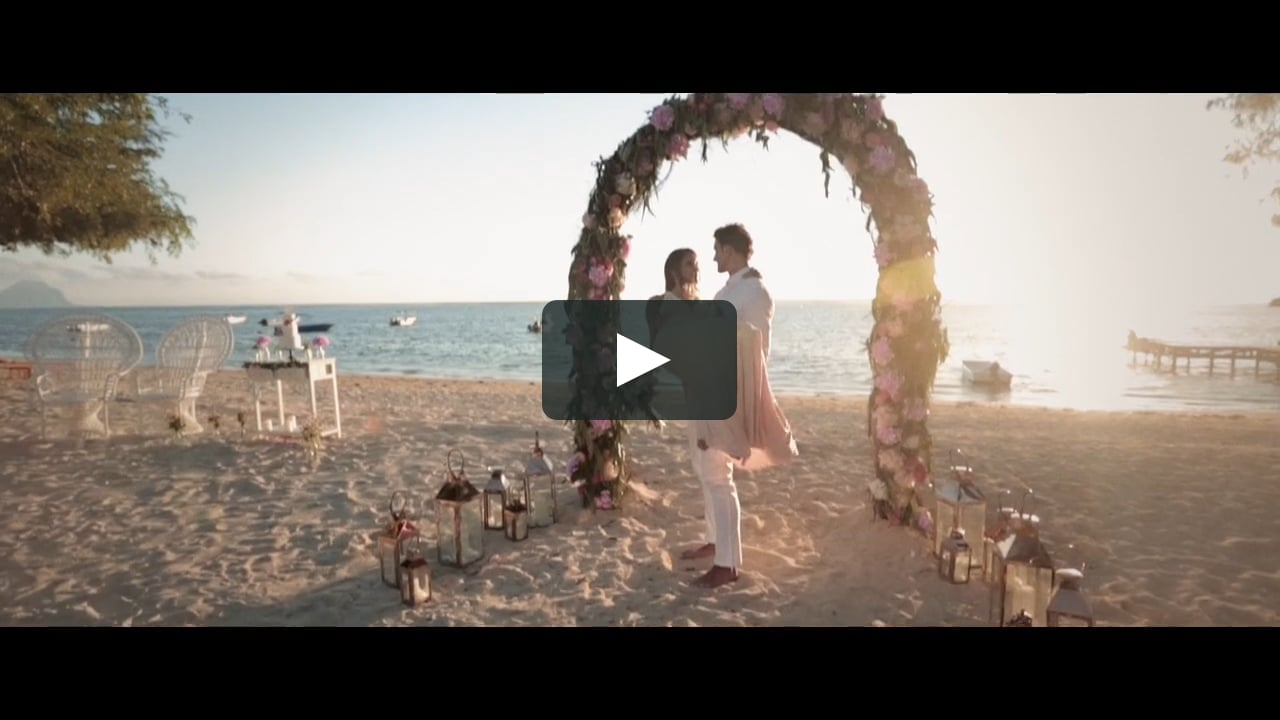 Videography for wedding ceremony in Mauritius