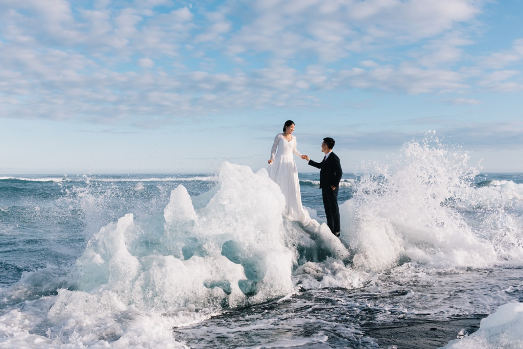 Pre-wedding Iceland Overseas 4-day Package photoshoot