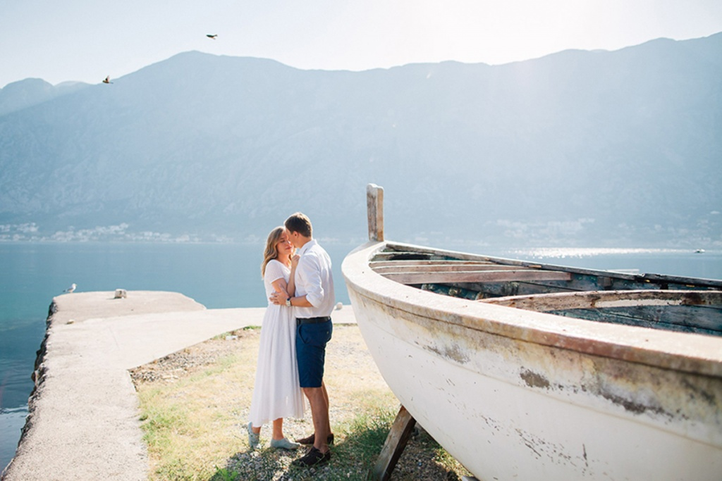 Montenegro engagement photography