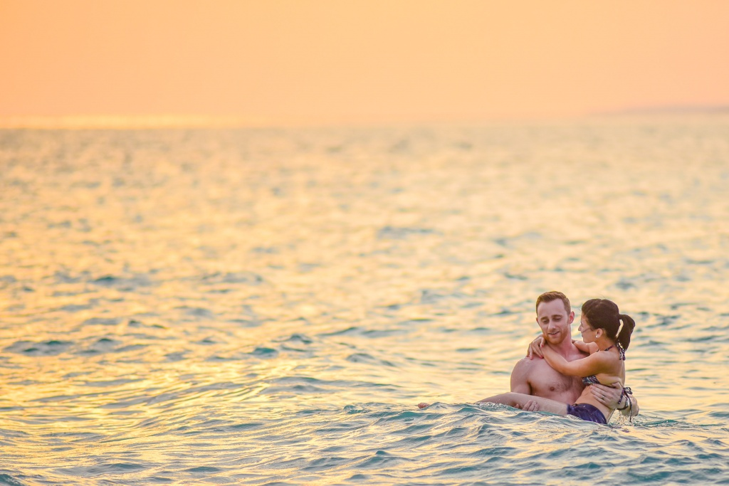 Honeymoon Love Portrait Session in Maldives with Asad in Haa Alif Atoll,