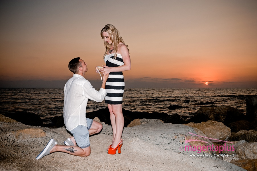 Secret Proposal in Cyprus