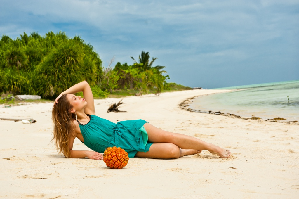 Photo shoot in Bora Bora