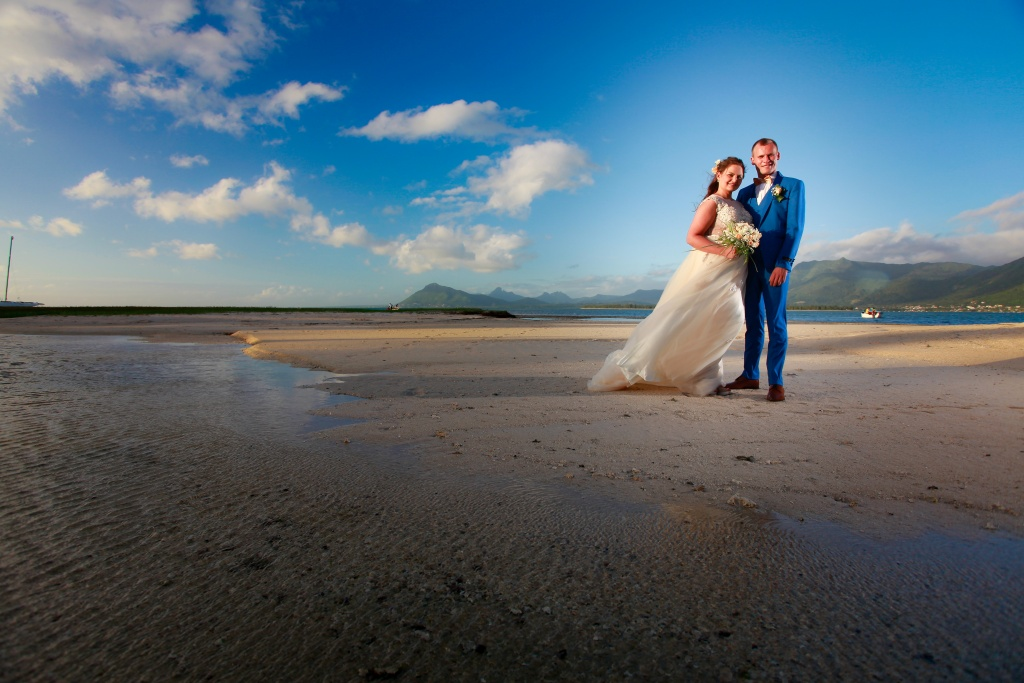 elopement wedding in Mauritius