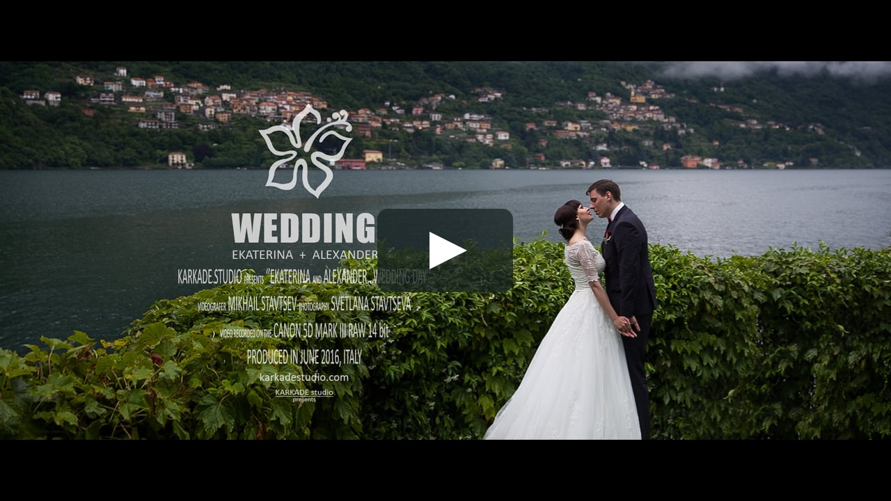 Wedding video in Como lake