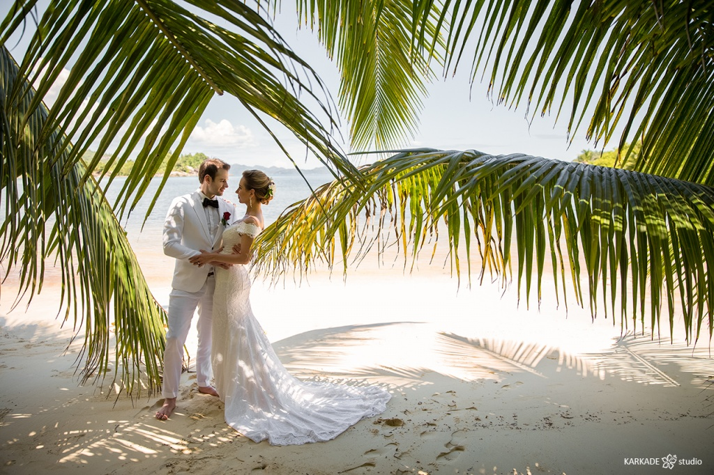 Wedding elopement Seychelles