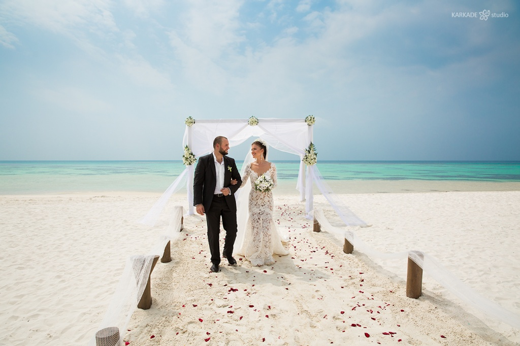 Wedding in Maldives