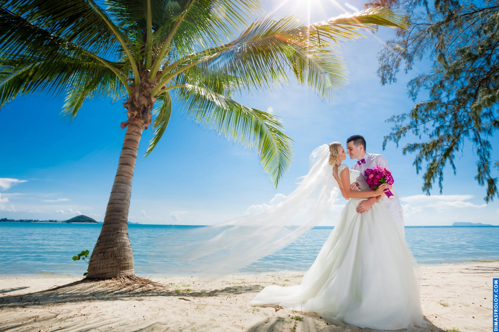 Wedding photography on Samui