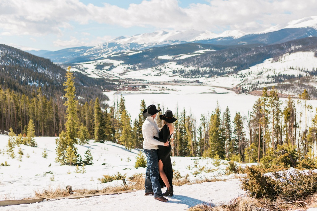 Wild Engagement in the Rocky Mountains, Colorado