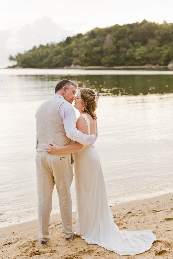 Intimate Elopement on the beaches of Phuket, Thailand