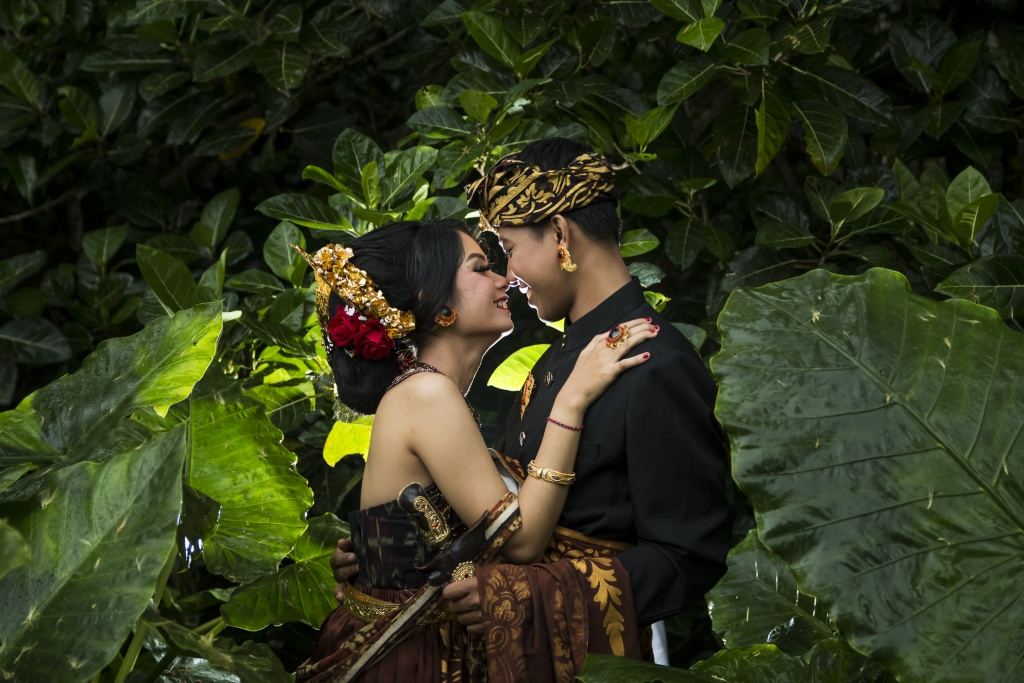 Balinese Prewedding at Monkey Forest Sangeh