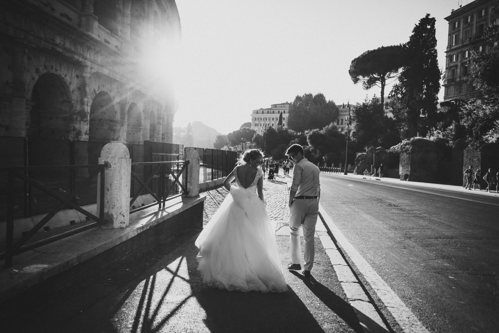 Wedding Photosession in Rome