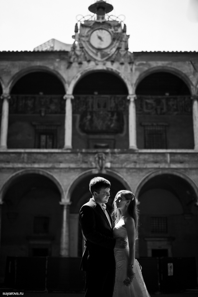 Wedding photoshoot in Roma,Italy