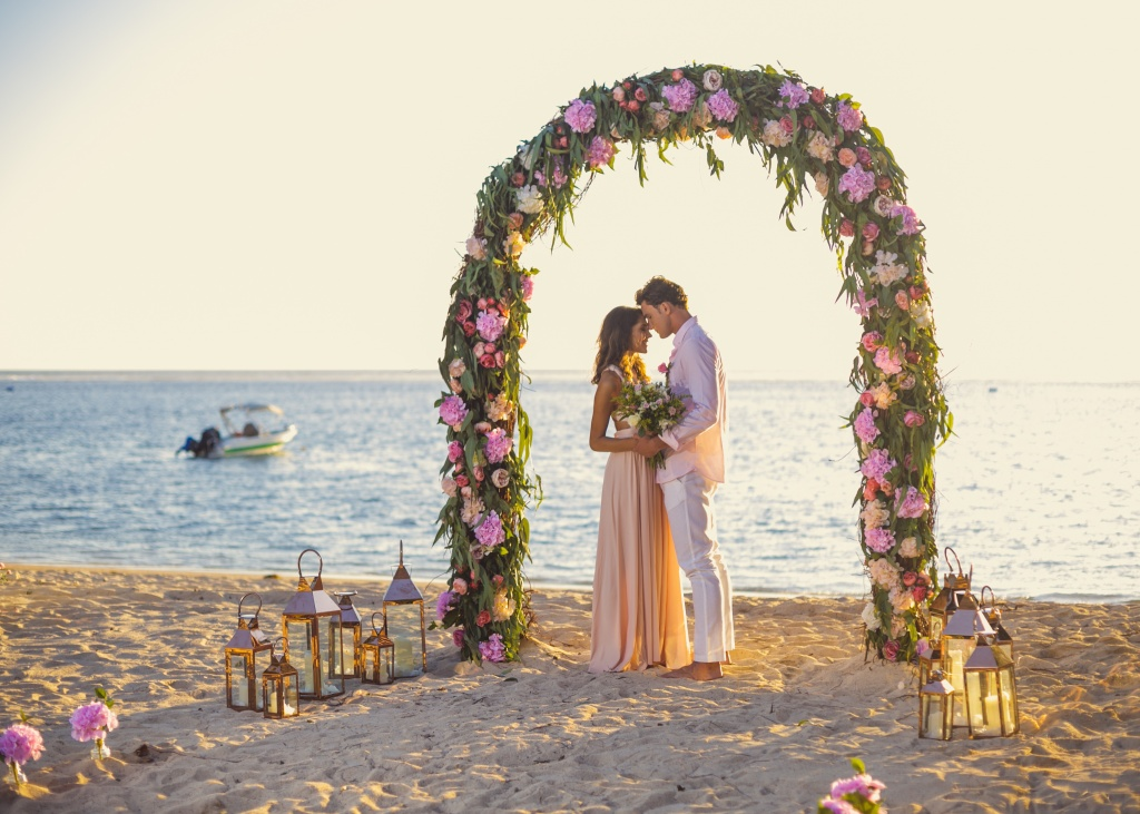 Unique wedding decorations in Mauritius