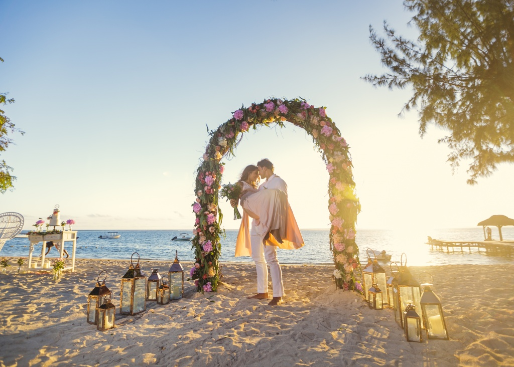 Beach wedding of your dream in Mauritius