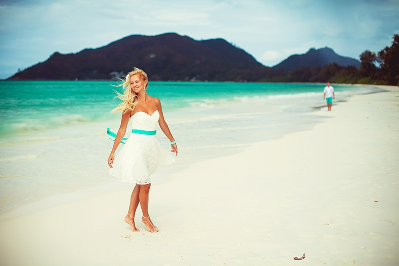 Honeymoon photoshoot in Mauritius