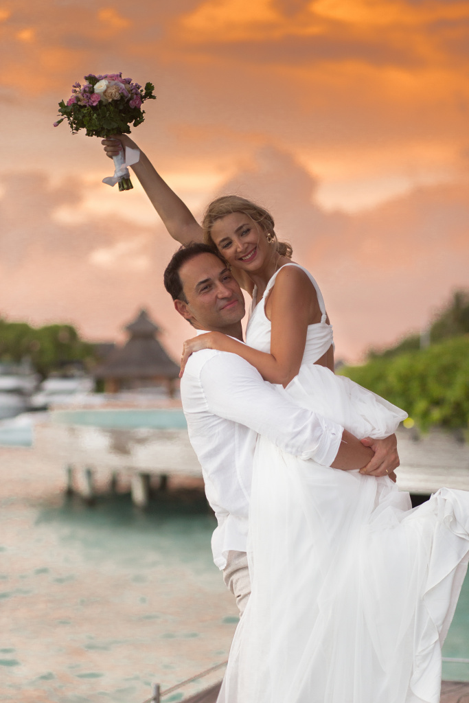 Wedding portraits in Resorts
