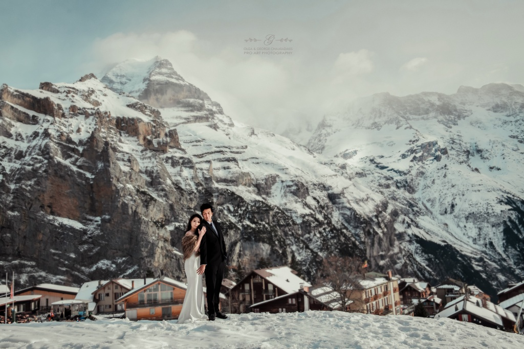 Swiss Alps Wedding Photography