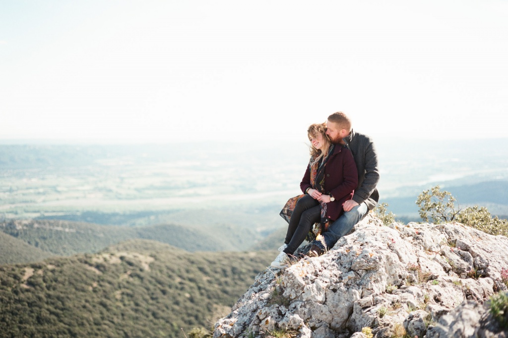 Love session in Provence, France