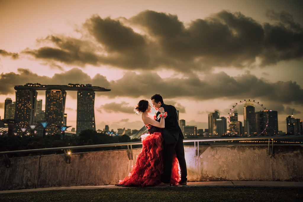 Pre Wedding in Singapore