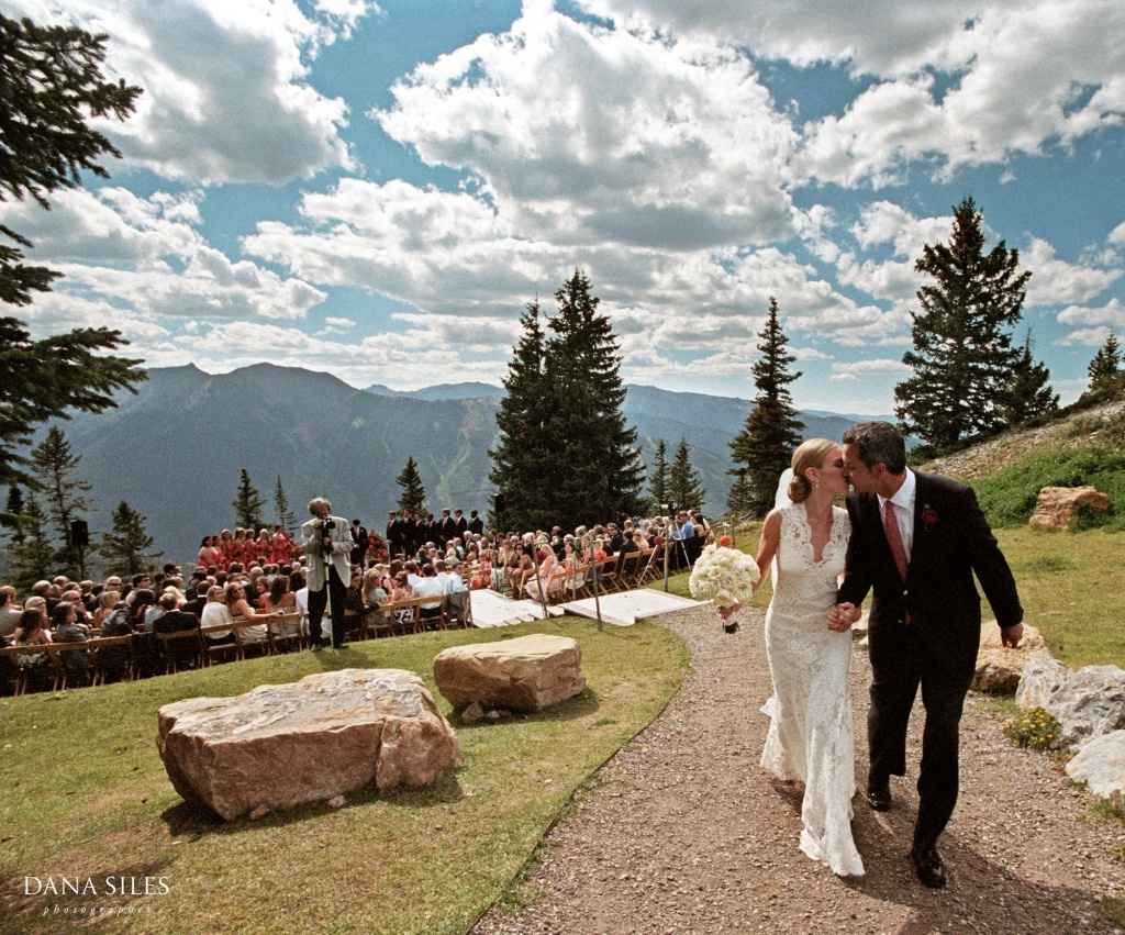 Just Married: Leigh & Walker, Aspen, Colorado, USA