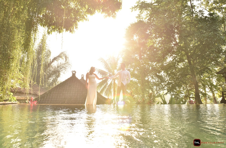 Ubud sunrise photo shoot