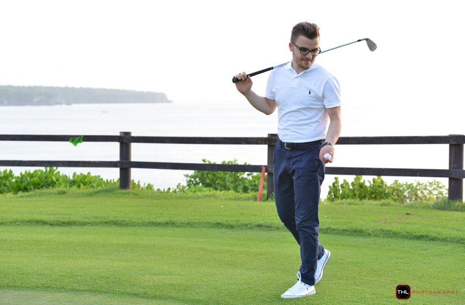 Bali golf fashion blogger