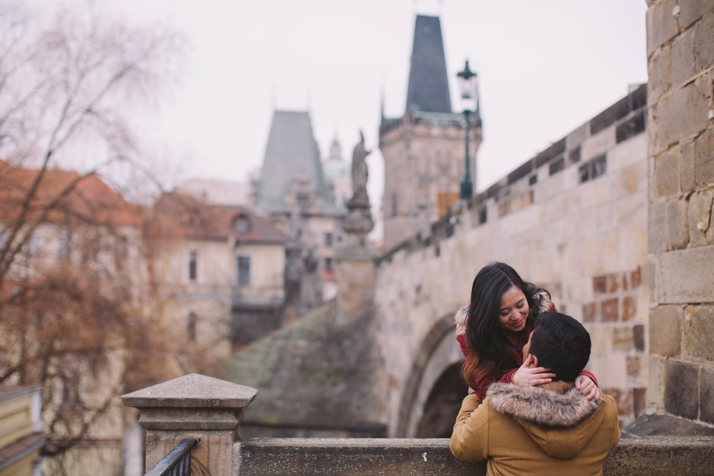 Engagement session in Prague