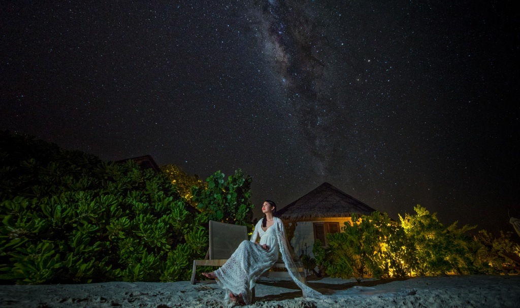Stary Stary Night In Maldives