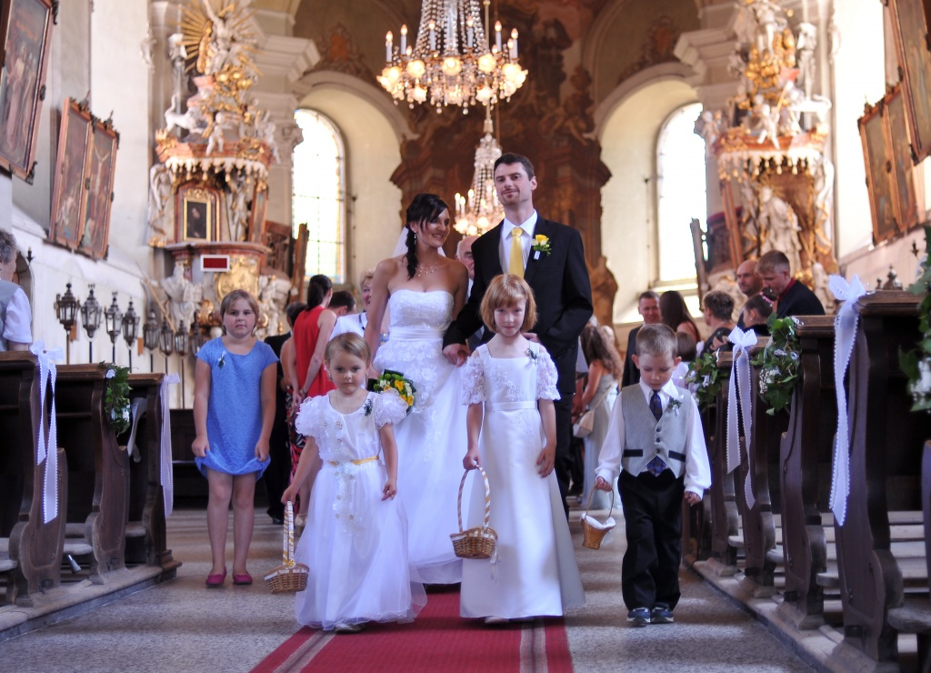 Wedding in Prague, Czech republic